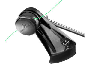 Easy to load dual-line trimmer head!  Come in for a demo!